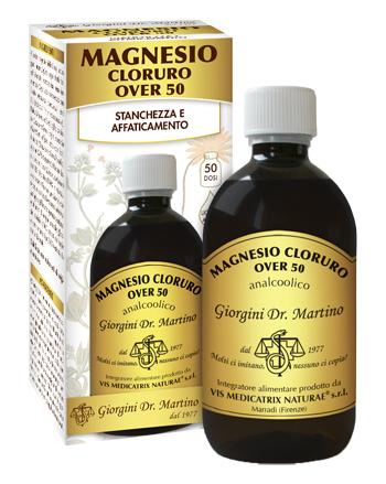 MAGNESIO CLORURO OVER 50 500 ML LIQUIDO ANALCOLICO - Farmaseller