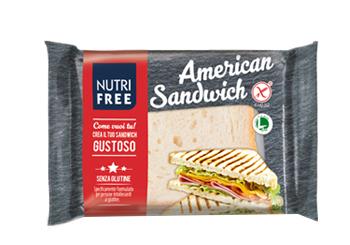 NUTRIFREE AMERICAN SANDWICH 60 G X 4 PEZZI - Farmaseller
