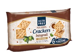 NUTRIFREE CRACKERS INTEGRALI 33,4 G X 6 PEZZI - Farmaseller