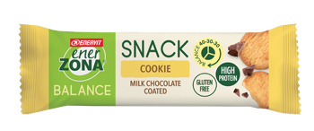 ENERZONA SNACK COOKIE MILK CIOCHOLATE 33 G - Farmafamily.it