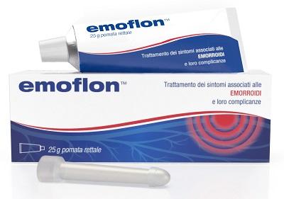 EMOFLON POMATA RETTALE TUBETTO 25 G CON APPLICATORE - farmaciafalquigolfoparadiso.it