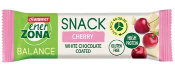 ENERZONA SNACK CHERRY 33 G - Farmaedo.it