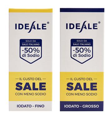 IDEALE CONDIMENTO A BASE DI SALE ALIMENTARE GROSSO 300 G - Farmastar.it