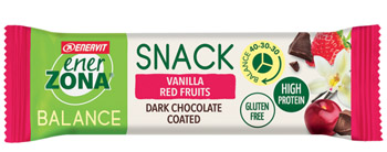 ENERZONA SNACK VANILLA RED FRUIT 33 G - Farmaedo.it