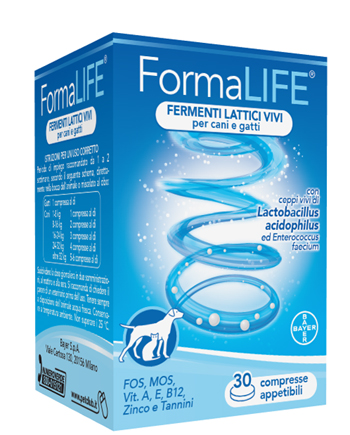 FORMALIFE FERMENTI LATTICI 30 COMPRESSE APPETIBILI 33 G - Farmabenni.it