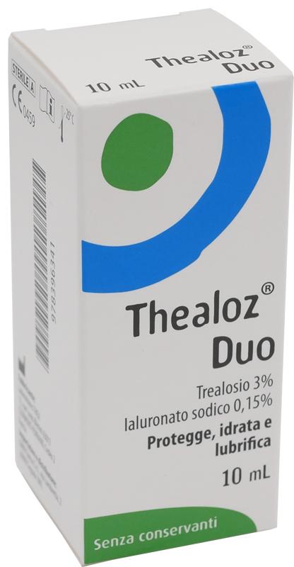 SOLUZIONE OCULARE THEALOZ DUO 10 ML - FARMAEMPORIO
