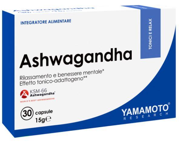 YAMAMOTO RESEARCH ASHWAGANDHA 30 CAPSULE - Farmacia Massaro