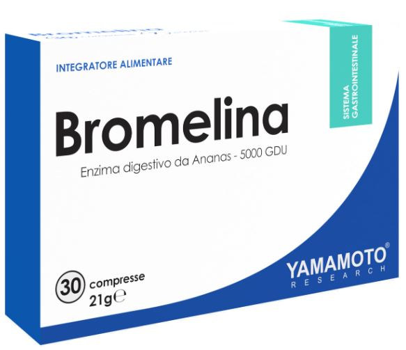 YAMAMOTO RESEARCH BROMELINA 30 COMPRESSE - Farmacia Massaro