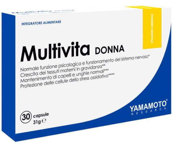 YAMAMOTO RESEARCH MULTIVITA DONNA 30 CAPSULE - Farmacia Massaro