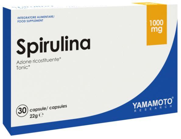 YAMAMOTO RESEARCH SPIRULINA 30 CAPSULE - Farmacia Massaro