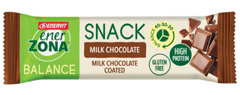 ENERZONA SNACK MILK CHOCO 33 G - farmaciafalquigolfoparadiso.it