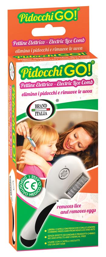 PETTINE ELETTRICO PIDOCCHI GO - Farmapage.it