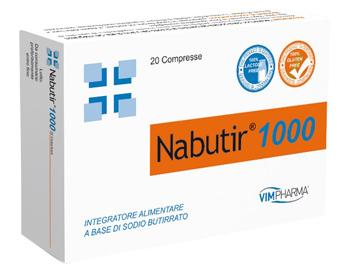 NABUTIR 1000 20 COMPRESSE