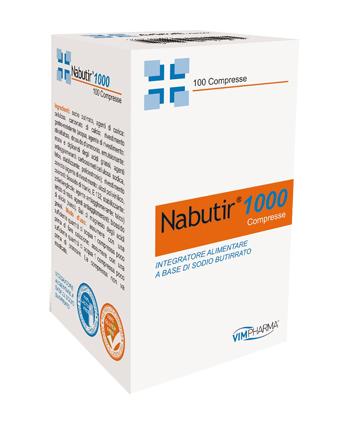 NABUTIR 1000 100 COMPRESSE - Farmaseller