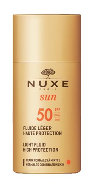 NUXE SUN FLUIDE LEGERE SPF50 50 ML - Farmaedo.it
