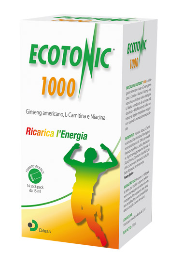 ECOTONIC 1000 14 STICK PACK 15 ML - Farmaseller
