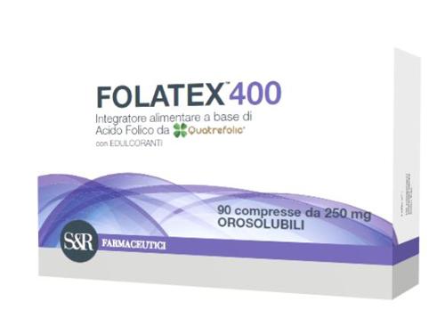 FOLATEX 400 90 COMPRESSE - Farmaseller