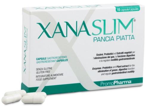 XANASLIM PANCIA PIATTA 15 CAPSULE GASTRORESISTENTI - Farmaseller
