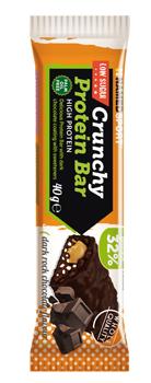 CRUNCHY PROTEINBAR DARK ROCK CHOCOLATE BARRETTA 40 G - FARMAPRIME