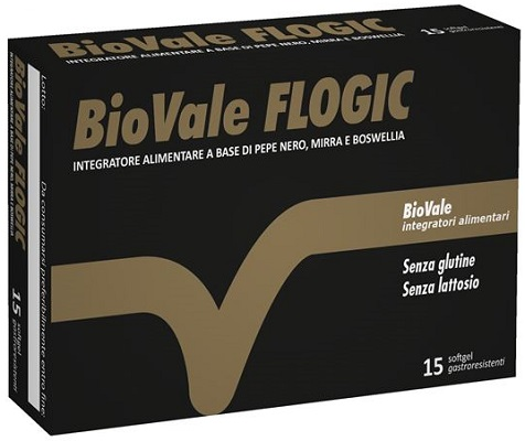 BIOVALE FLOGIC 15 SOFTGEL - Parafarmacia la Fattoria della Salute S.n.c. di Delfini Dott.ssa Giulia e Marra Dott.ssa Michela
