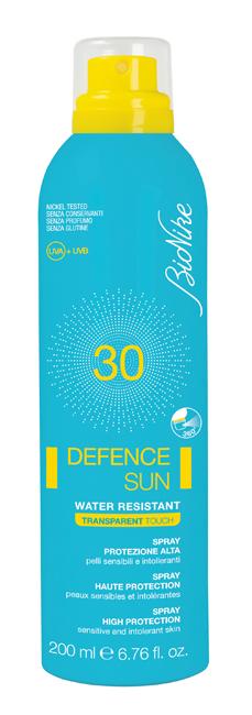 DEFENCE SUN 30 SPRAY TRANSPARENT TOUCH 200 ML - Zfarmacia