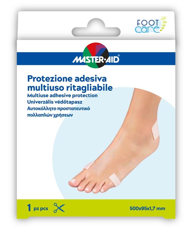 MASTER-AID FOOT CARE PROTEZIONE ADESIVA MULTIUSO RITAGLIABILE 50X9,5 CM - Farmaseller