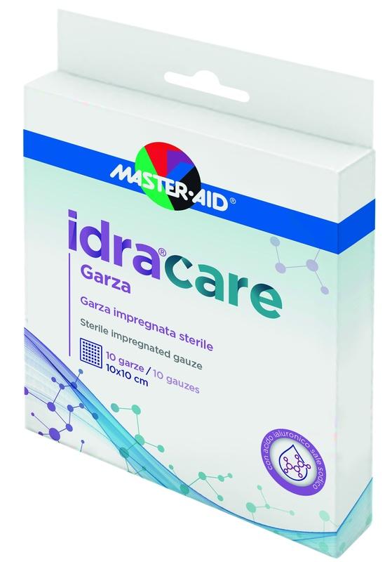 MASTER-AID IDRACARE GARZA IMPREGNATA 10X10 CM 10 PEZZI - Farmaseller