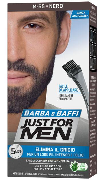 JUST FOR MEN BARBA & BAFFI M55 NERO 51 G - Farmaseller