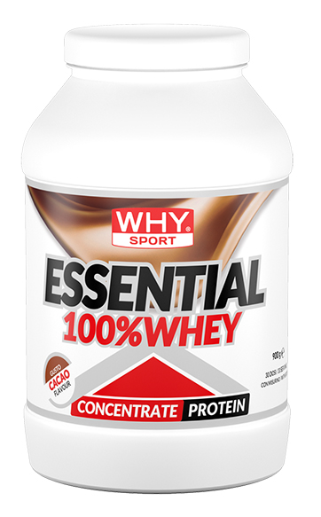 WHYSPORT ESSENTIAL 100% WHEY CACAO 900 G - Spacefarma.it