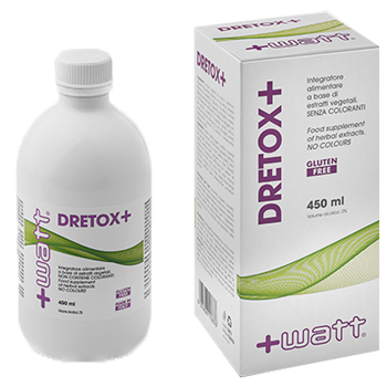 DRETOX+ 450 ML - Parafarmacia la Fattoria della Salute S.n.c. di Delfini Dott.ssa Giulia e Marra Dott.ssa Michela