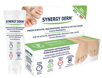 SYNERGY DERM CREMA PIEDE ATLETA MACERAZIONE SUDORE - Farmaciasconti.it