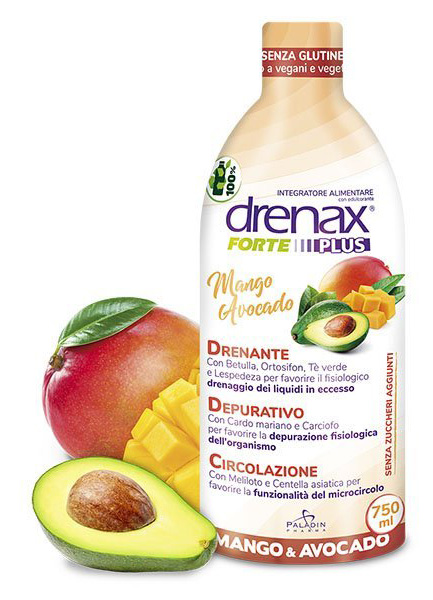 DRENAX FORTE MANGO AVOCADO 750 ML - La farmacia digitale
