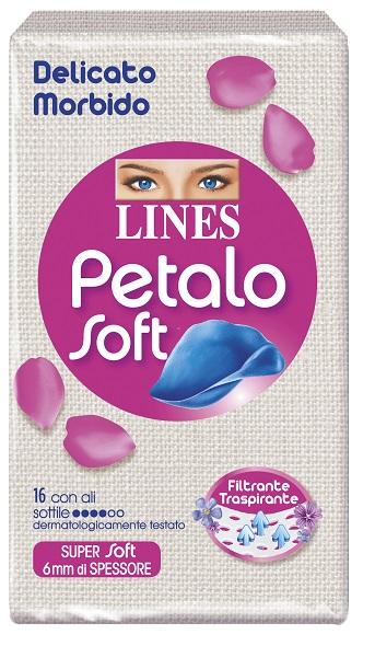 LINES PETALO SOFT ALI 16 PEZZI - farmaciafalquigolfoparadiso.it
