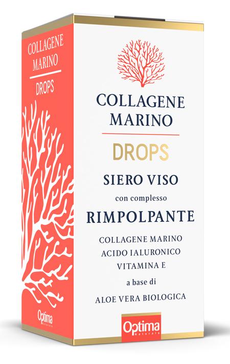COLLAGENE MARINO DROPS SIERO VISO RIMPOLPANTE 30 ML - Farmaseller