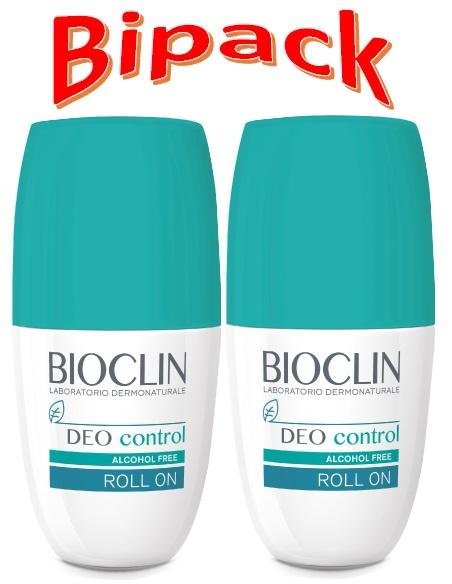 Bioclin Deo Control Roll-On 50ml Bipack 2 x 50ml - Arcafarma.it