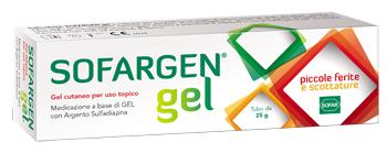 MEDICAZIONE IN GEL SOFARGEN TUBO 25 G - Farmaciapacini.it