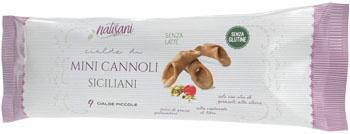 MINI BUCCE DI CANNOLO 9 PEZZI - farmaciafalquigolfoparadiso.it