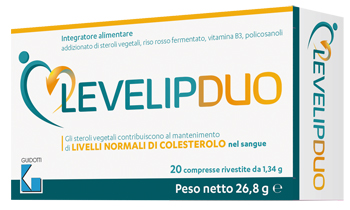LEVELIPDUO 20 COMPRESSE - Farmacia Massaro