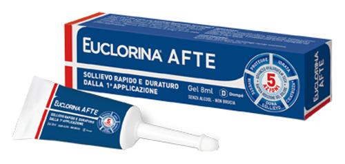 EUCLORINA AFTE GEL 8 ML - Parafarmacia la Fattoria della Salute S.n.c. di Delfini Dott.ssa Giulia e Marra Dott.ssa Michela