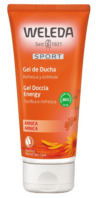 SPORT GEL DOCCIA ENERGY ARNICA 200ML - Farmacia Castel del Monte