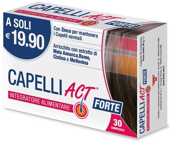 CAPELLI ACT FORTE 30 COMPRESSE - Farmacia Massaro