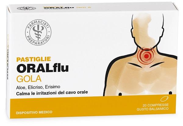 LFP ORALflu Gola 20 Comprese - Arcafarma.it