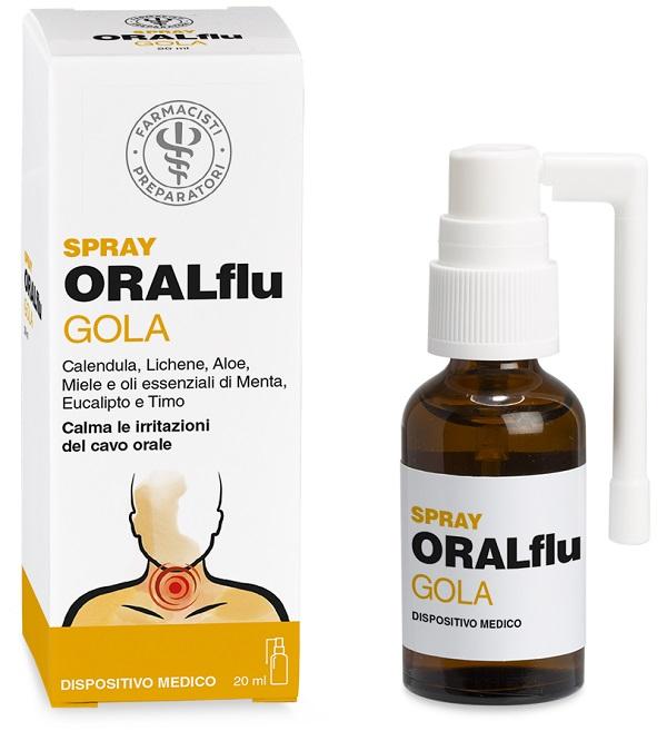 LFP ORALFLU GOLA SPRAY 20 ML - latuafarmaciaonline.it