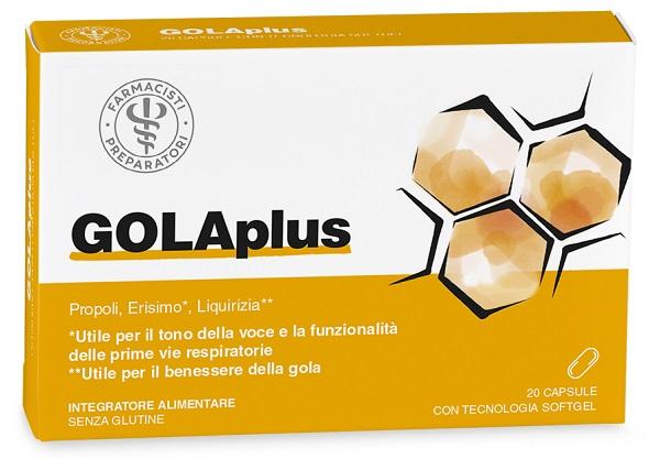 LFP Golaplus 20 Capsule Softgel da masticare - Arcafarma.it