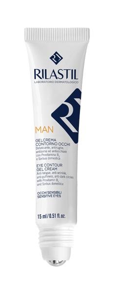 RILASTIL MAN GEL CREMA CONTORNO OCCHI 15 ML - Farmaseller