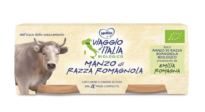 VIAGGIO ITALIA OMOGENEIZZATO MANZO 2 X 80 G - Farmaseller