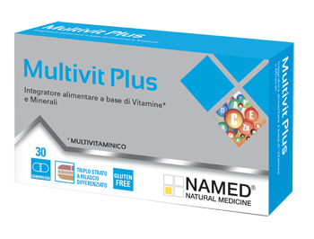MULTIVIT PLUS 30 COMPRESSE - Zfarmacia