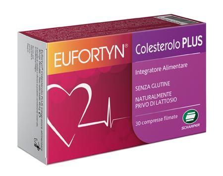 EUFORTYN COLESTEROLO PLUS 30 COMPRESSE FILMATE - Farmacia Puddu Baire S.r.l.