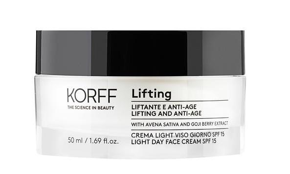 KORFF LIFTING DAY CREAM LIFTING EFFECT SPF15 50 ML - Farmacia della salute 360