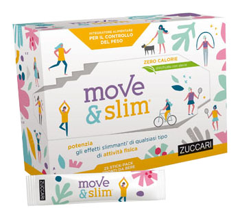 MOVE&SLIM SCIROPPO 25 STICKPACK 10 ML - Farmastar.it